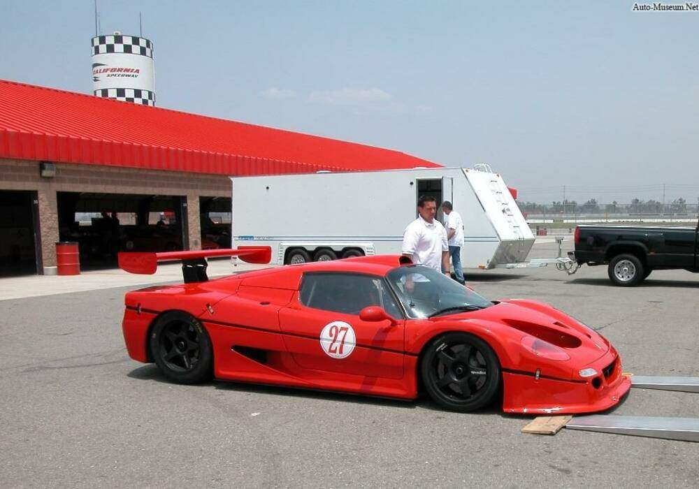 Fiche technique Ferrari F50 GT (1996)