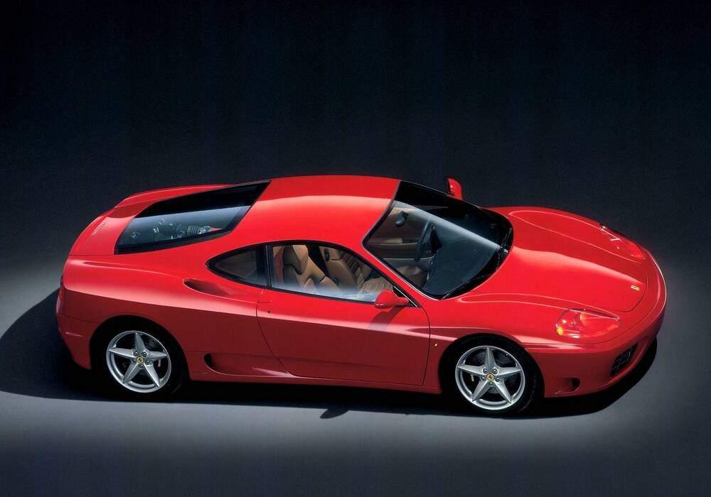 Fiche technique Ferrari 360 Modena (2000-2004)