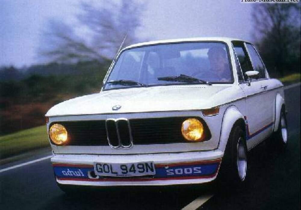 Fiche technique BMW 2002 Turbo (1973-1975)