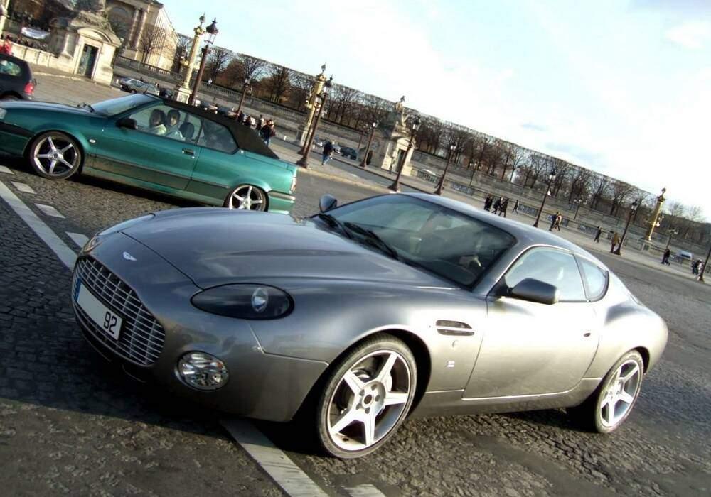 Fiche technique Aston Martin DB7 Zagato (2003)