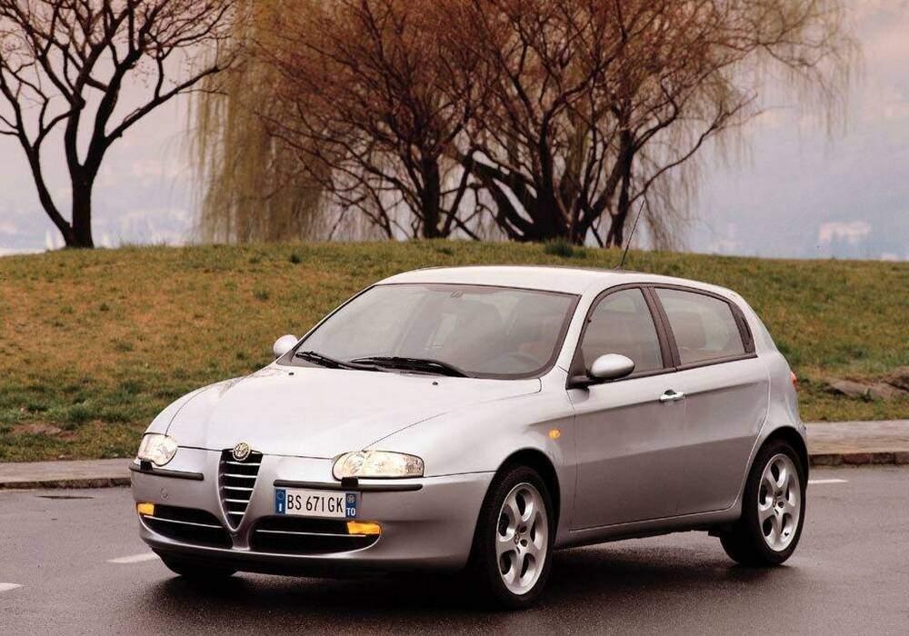 Fiche technique Alfa Romeo 147 1.9 JTD 110 (937) (2001-2005)