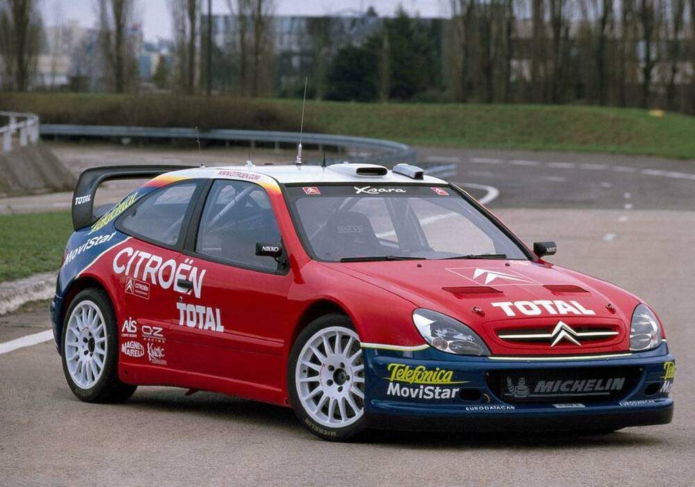 Fiche technique Citroën Xsara WRC (2001-2006)