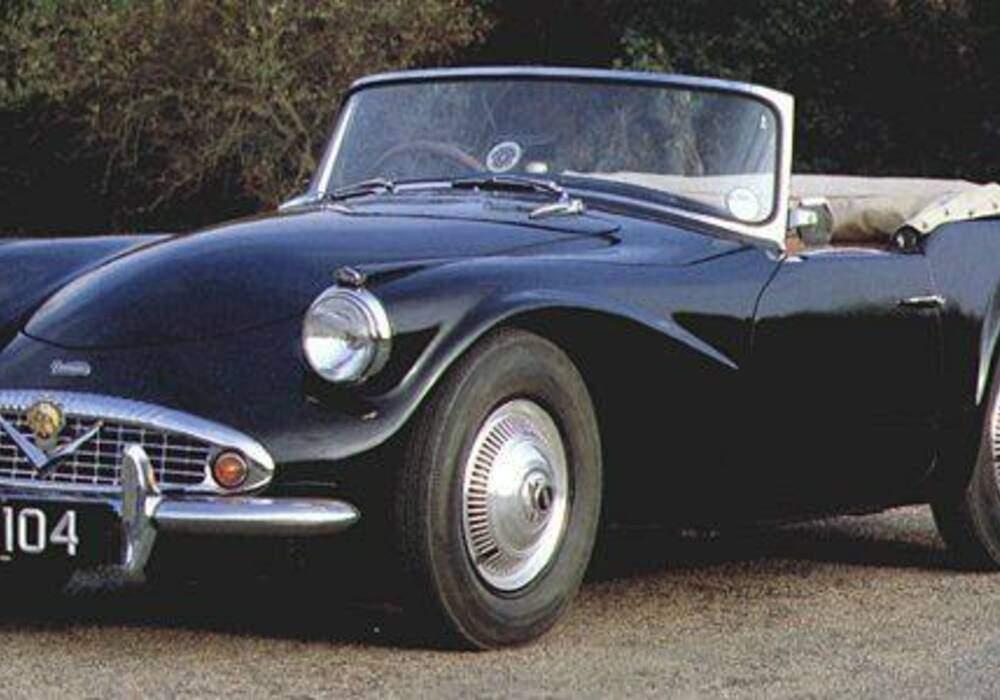 Fiche technique Daimler SP250 Dart (1959-1964)