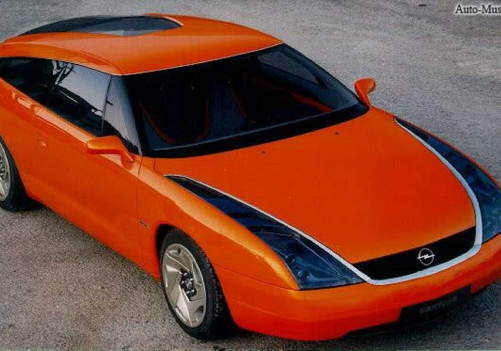 Fiche technique Opel Slalom (1996)