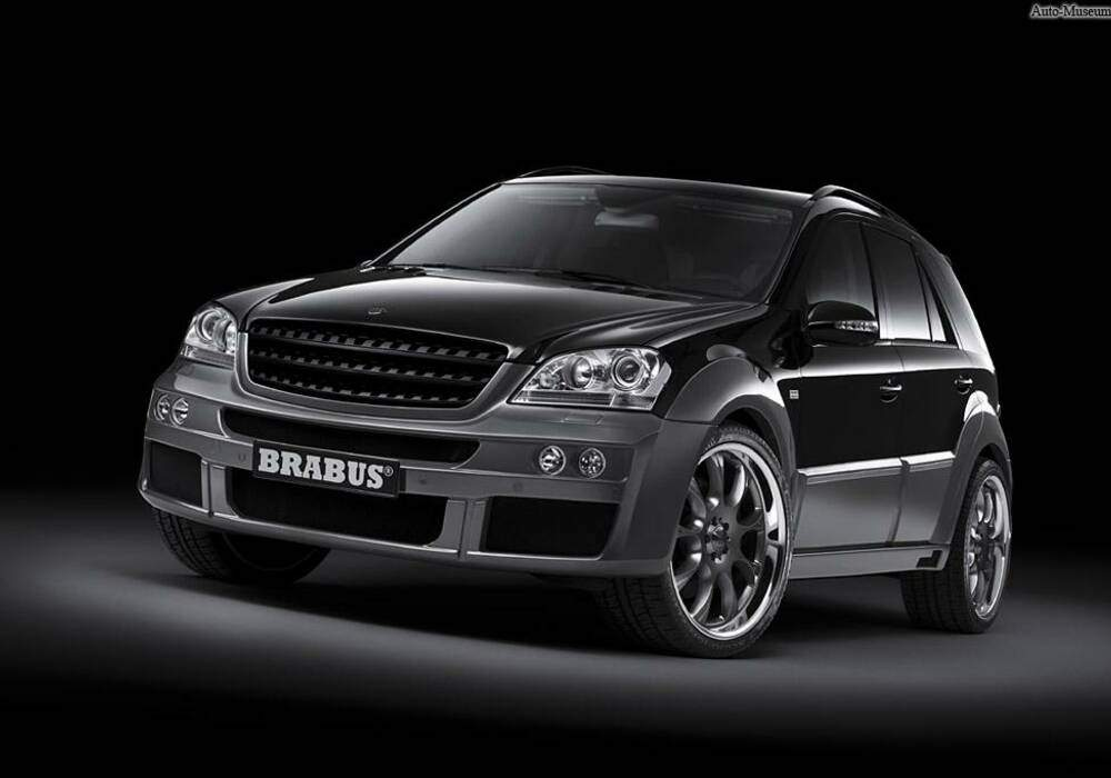 fiche technique brabus ml widestar 2007. Black Bedroom Furniture Sets. Home Design Ideas
