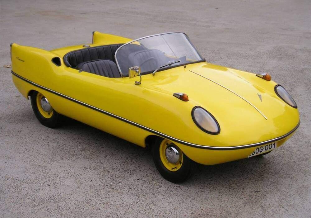 Fiche technique Glas Goggomobile Dart (1957-1961)