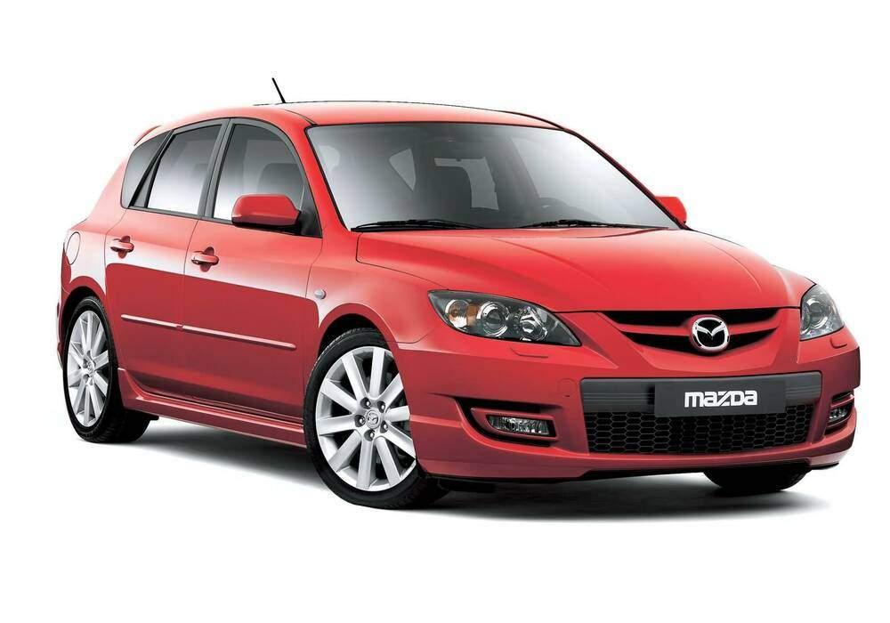 Fiche technique Mazda 3 MPS (BK) (2006-2009)