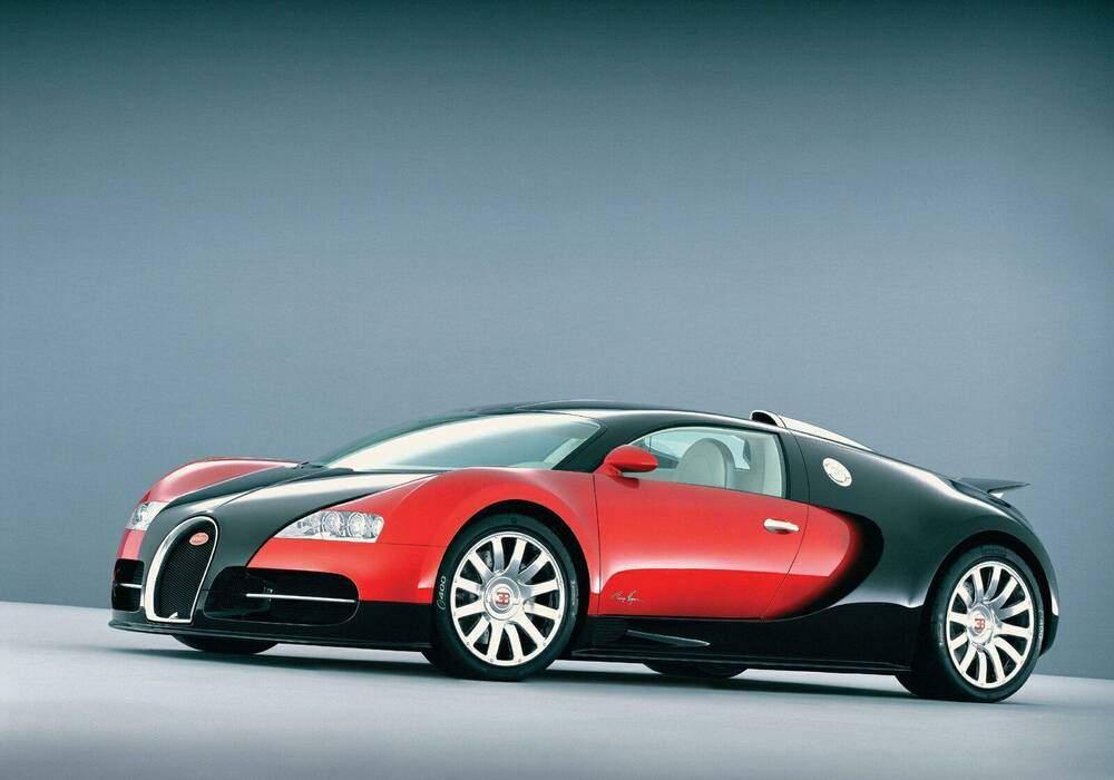 Fiche technique Bugatti EB 16.4 Veyron (2005-2011)