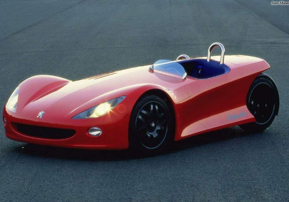 Fiche technique Peugeot Asphalte (1996)