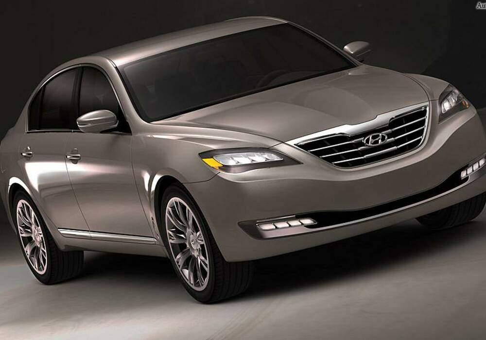 Fiche technique Hyundai Genesis Concept (2007)