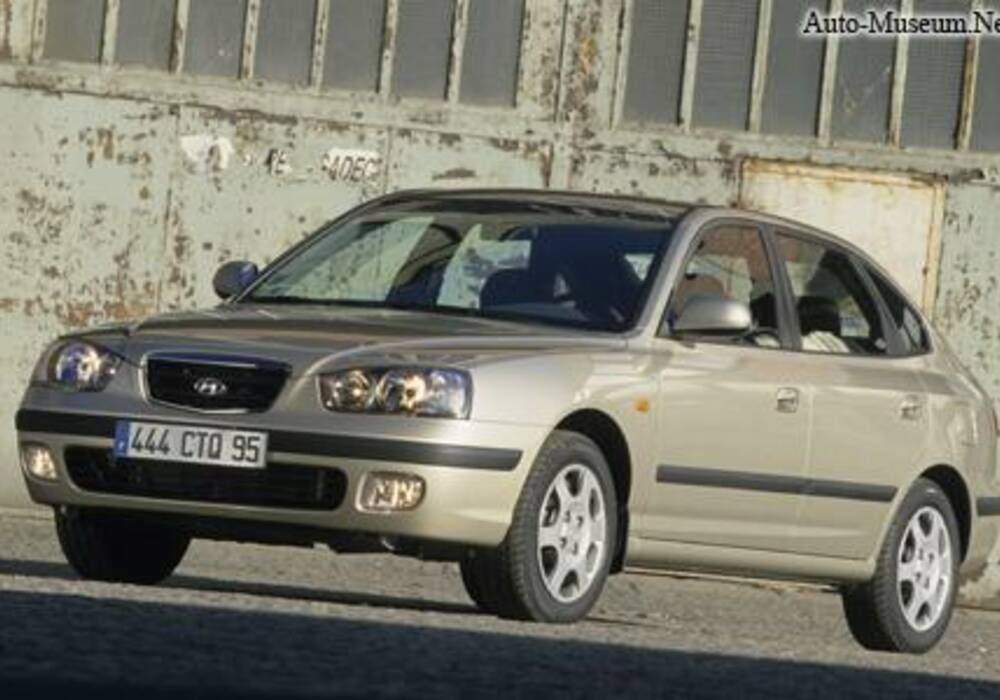 Fiche technique Hyundai Elantra IV 2.0 (2006-2010)