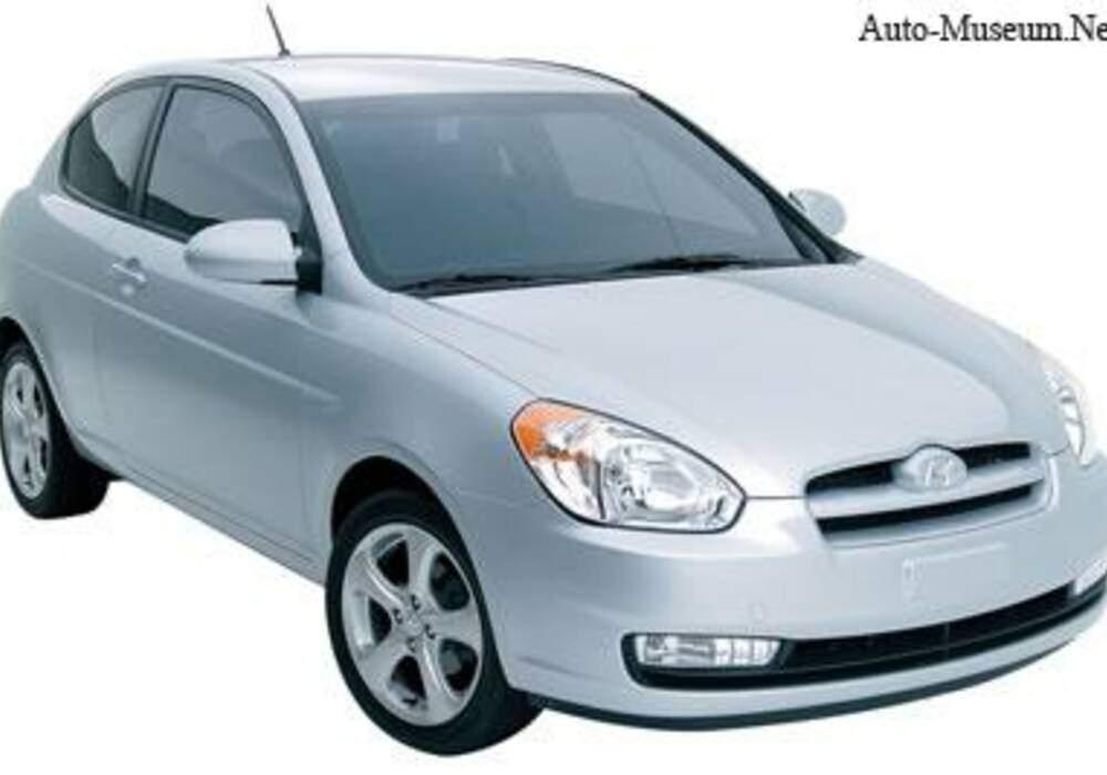 Fiche technique Hyundai Accent III 1.6 (2006-2008)