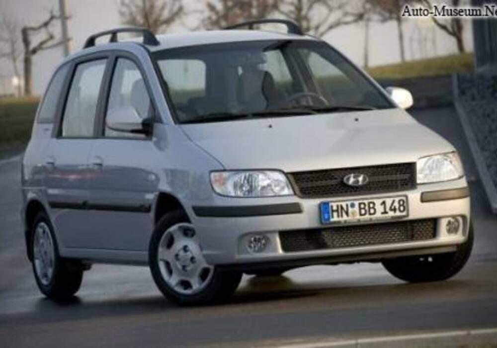 Fiche technique Hyundai Matrix 1.5 CRDi 110 (2004-2009)