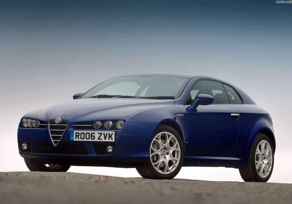 Fiche technique Alfa Romeo Brera 3.2 JTS 260 (939) (2006-2011)
