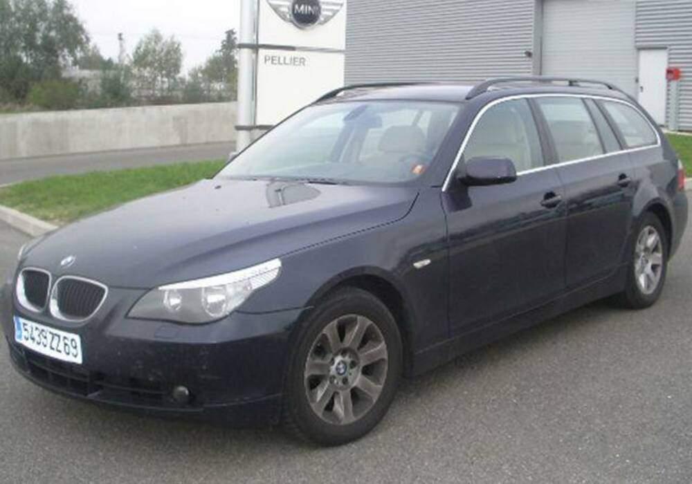 Fiche technique BMW 535d Touring (E61) (2004-2007)