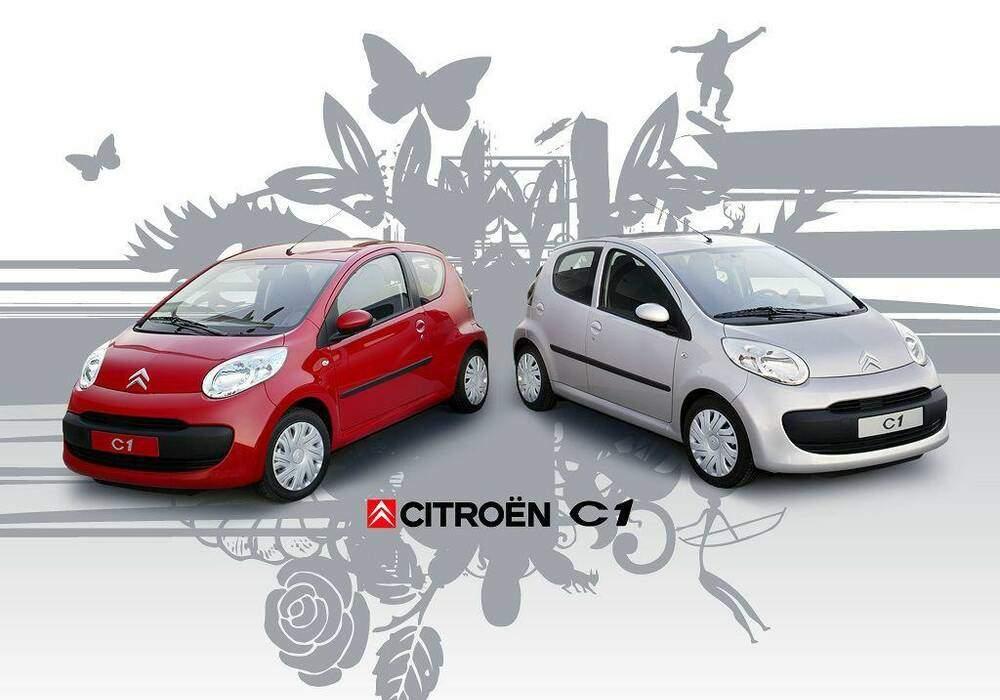 Fiche technique Citroën C1 1.0 (2005-2014)