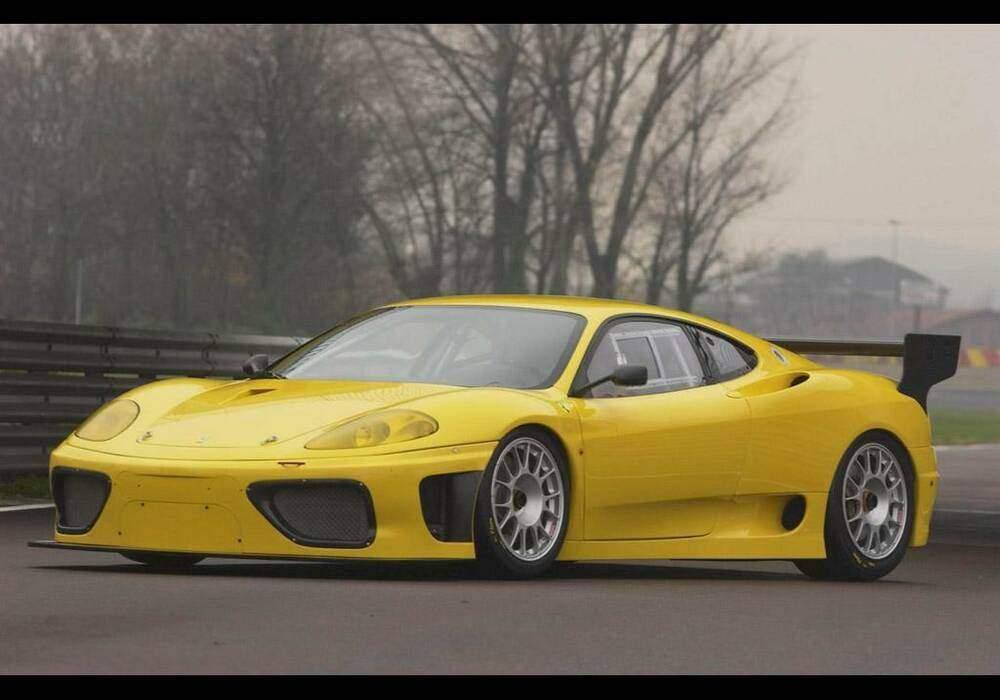 Fiche technique Ferrari 360 GTC (2004)