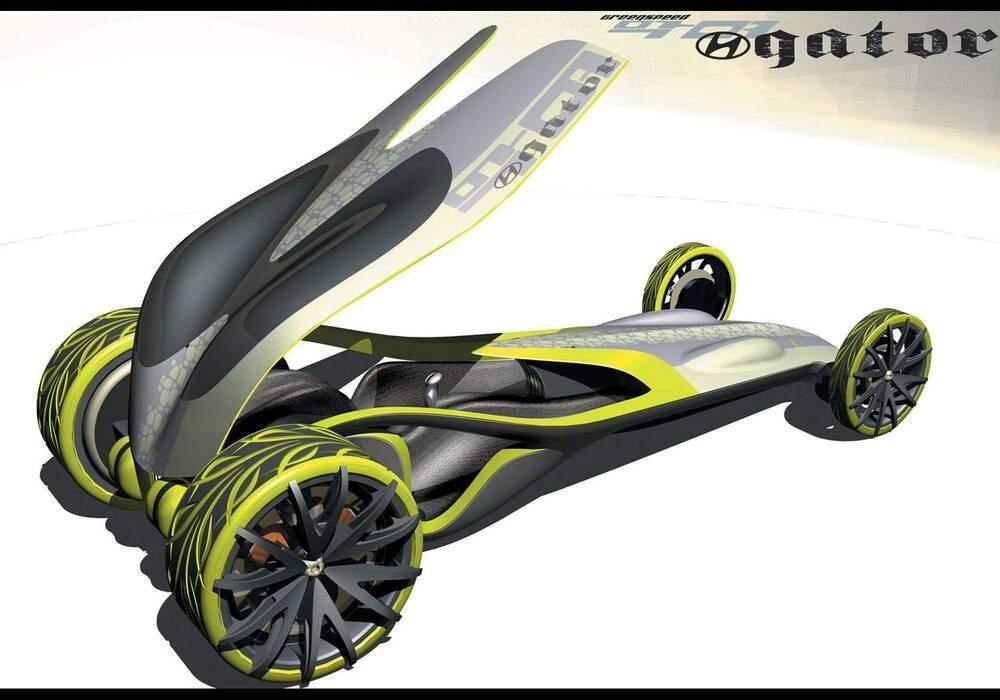 Fiche technique Hyundai Gator (2006)
