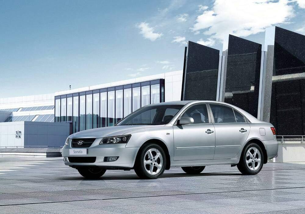 Fiche technique Hyundai Sonata V 2.4 16v (2005-2007)