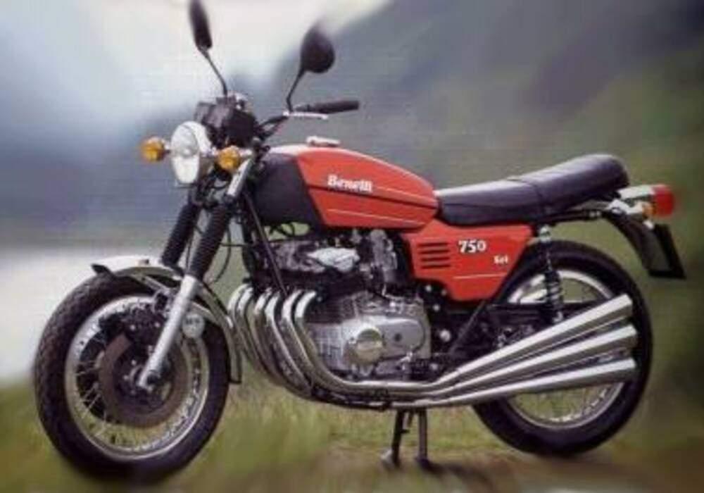 Fiche technique Benelli 750 Sei (1973-1977)