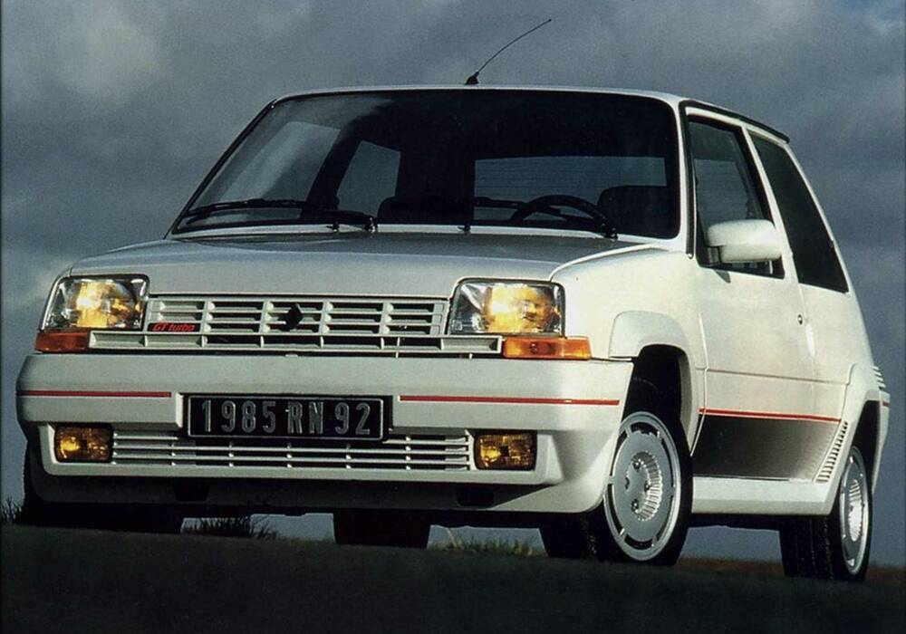fiche technique renault super 5 gt turbo  1985