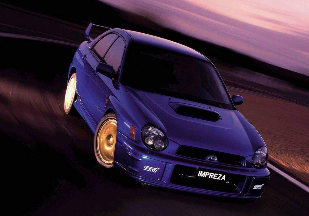 fiche technique subaru impreza ii wrx sti prodrive 2001. Black Bedroom Furniture Sets. Home Design Ideas