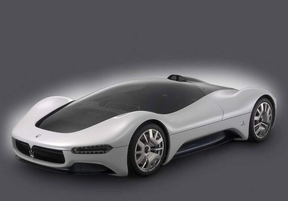 Fiche technique Maserati Birdcage 75th Concept (2005)