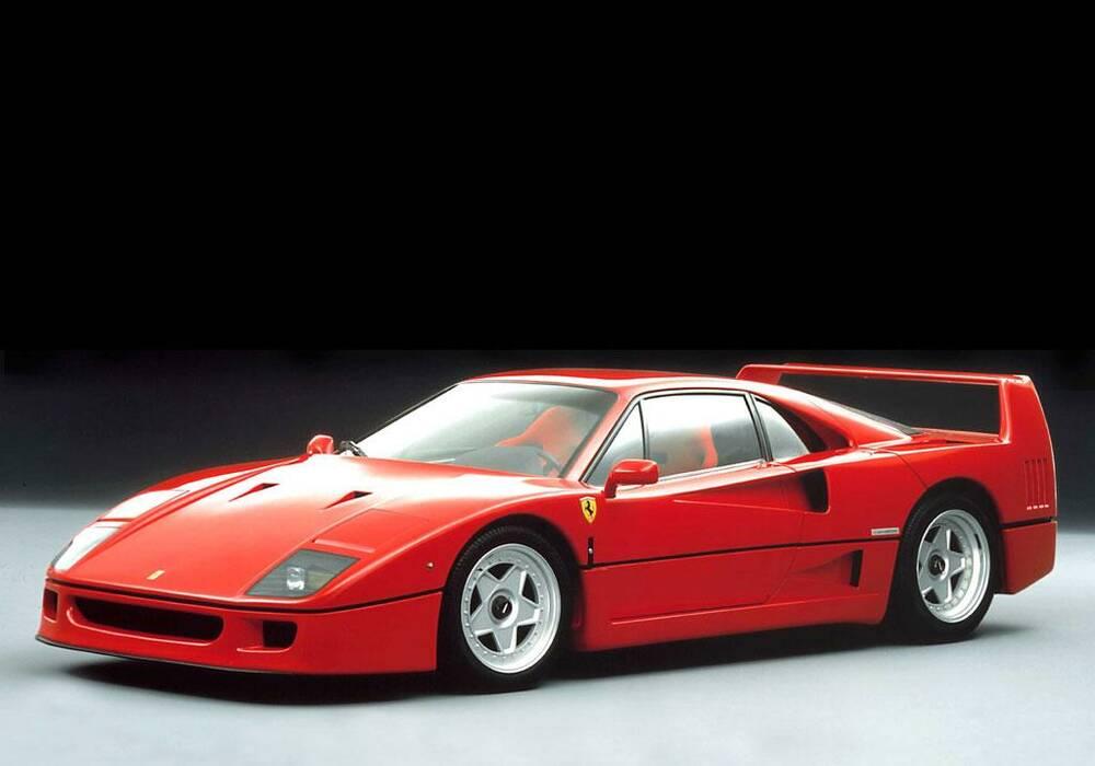 Fiche technique Ferrari F40 (1987-1992)