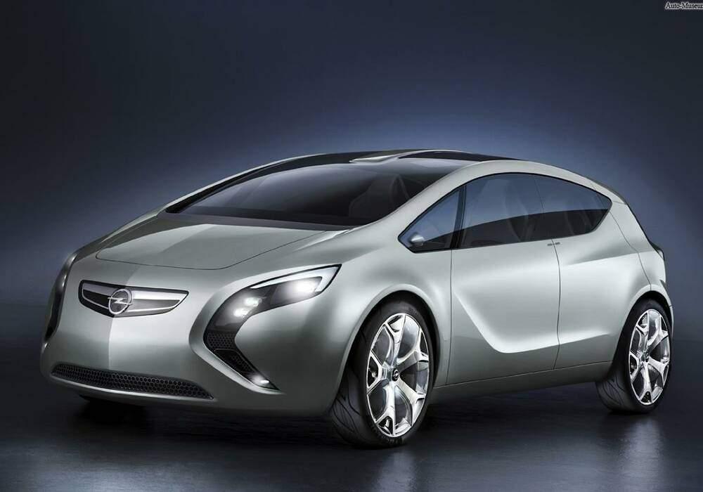 Fiche technique Opel Flextreme Concept (2007)