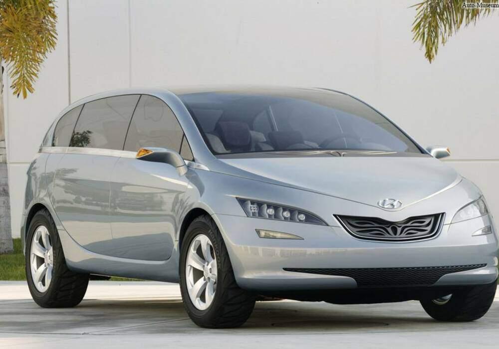 Fiche technique Hyundai Portico Concept (2005)