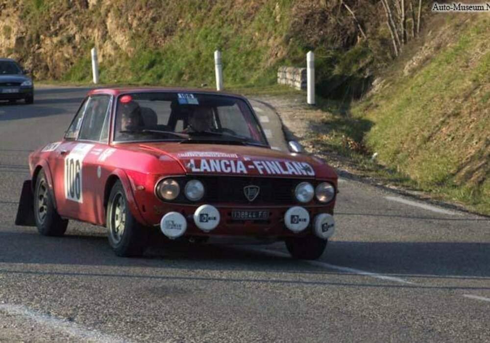 Fiche technique Lancia Fulvia 1600 HF Lusso (1969-1973)