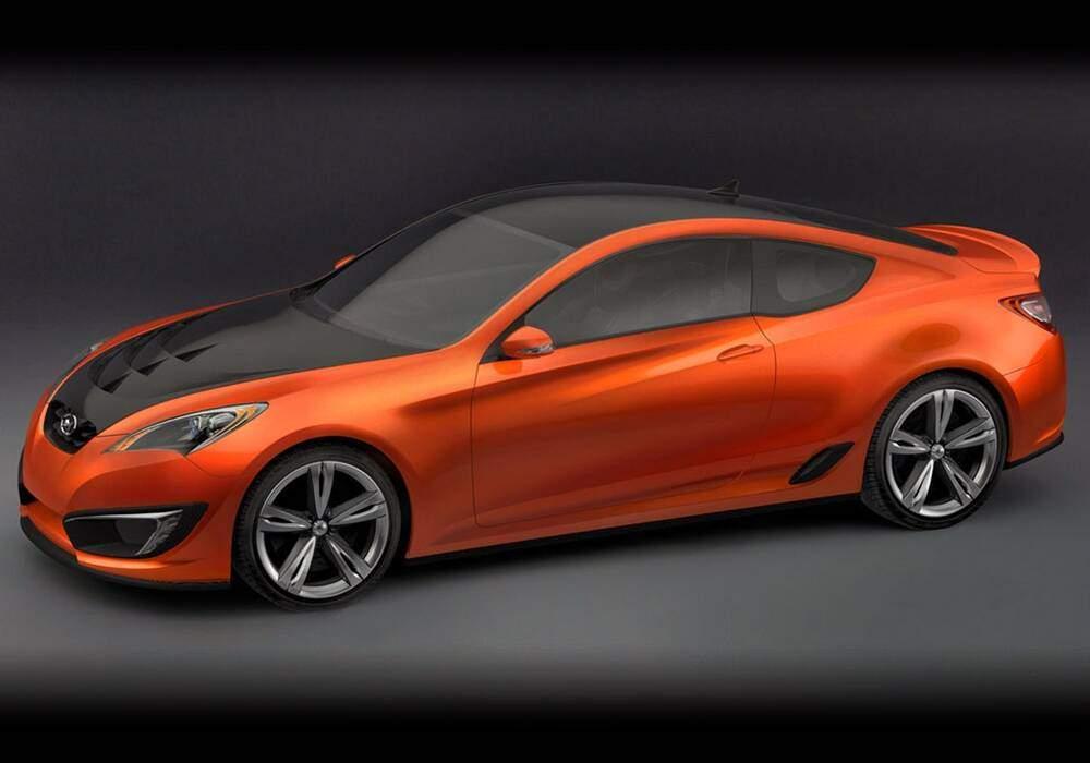 Fiche technique Hyundai Genesis Coupé Concept (2007)