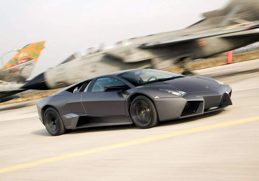 Fiche technique Lamborghini Reventón (2007)