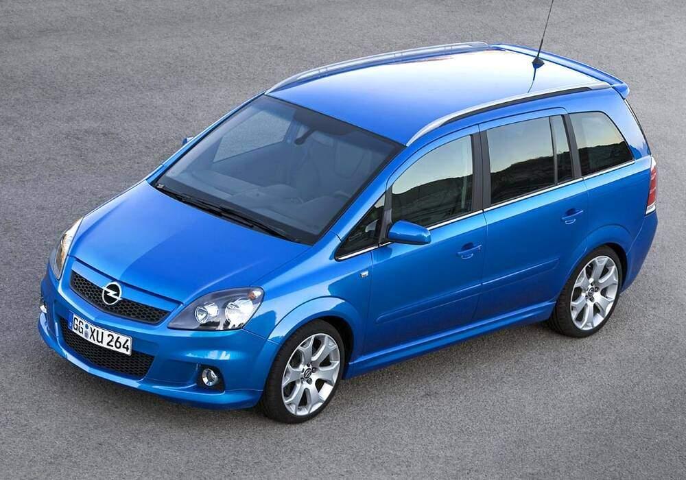 Fiche technique Opel Zafira II OPC (2005-2010)