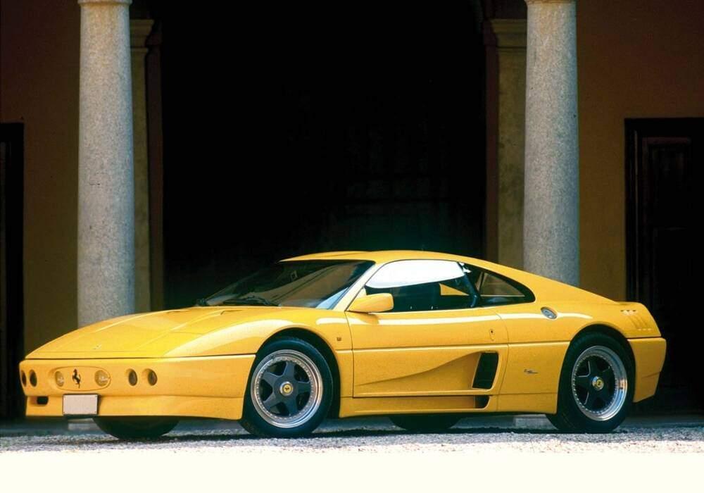 Fiche technique Ferrari 348 Elaborazione (1991-1992)