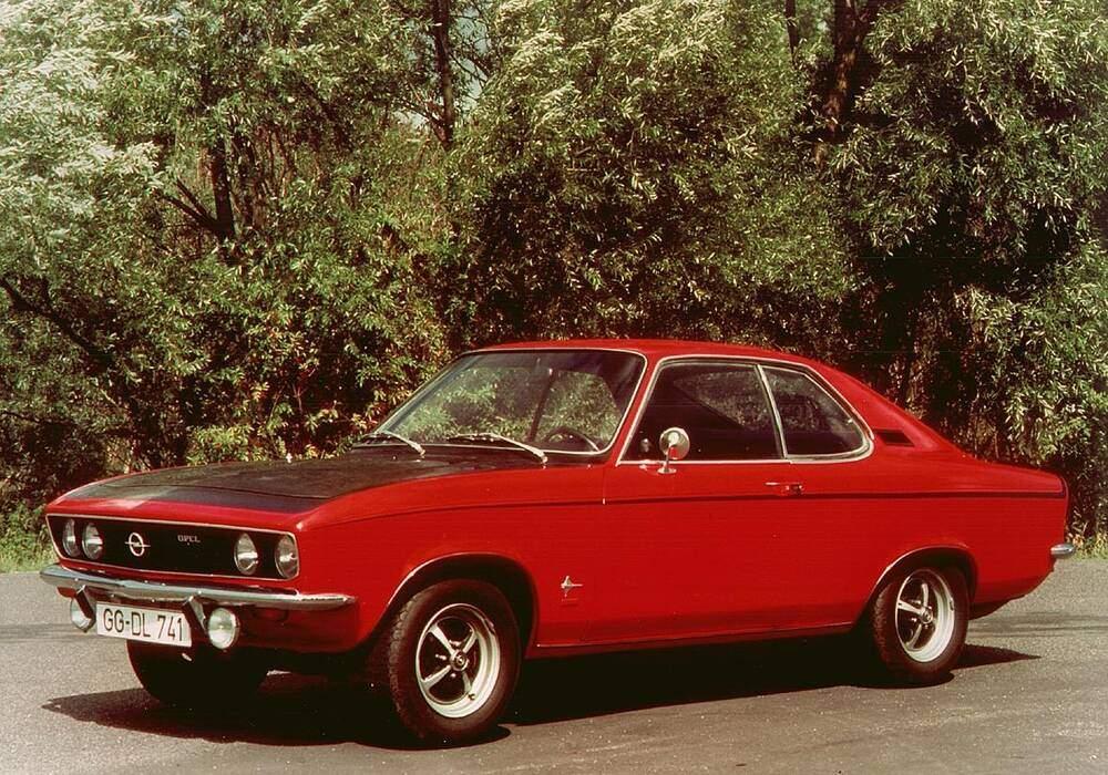 Fiche technique Opel Manta 1.6 S (A) (1970-1975)