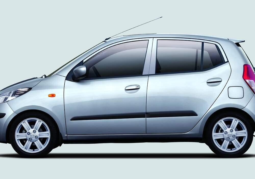 Fiche technique Hyundai i10 1.1 CRDi 75 (2008-2010)