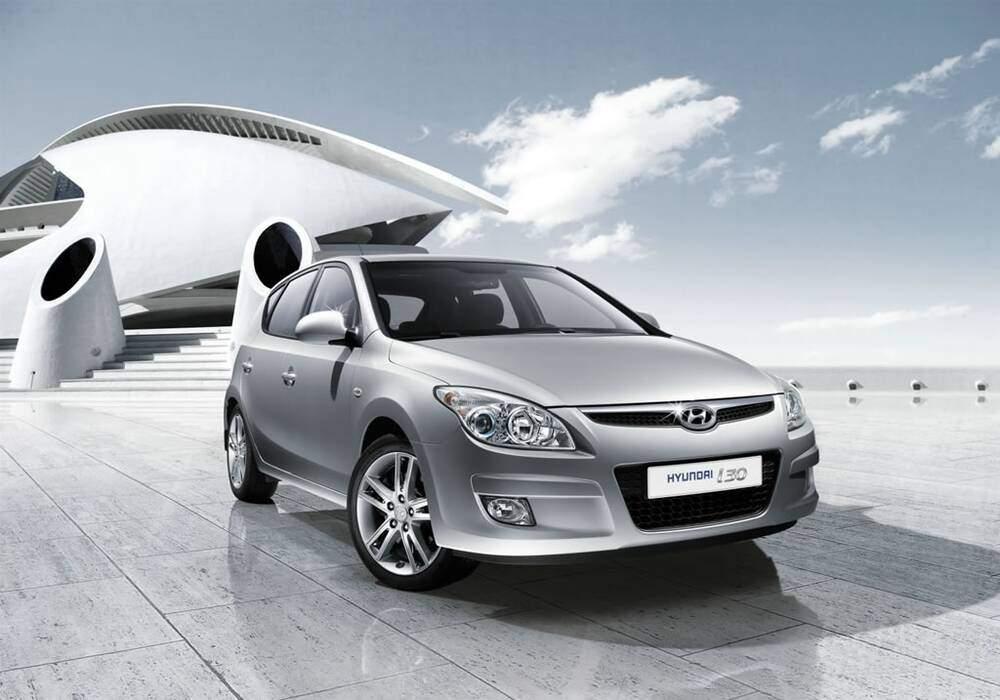 Fiche technique Hyundai i30 1.6 CRDi 115 (2008-2012)