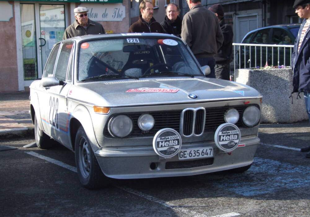 Fiche technique BMW 2002 Turbo (1973-1975)