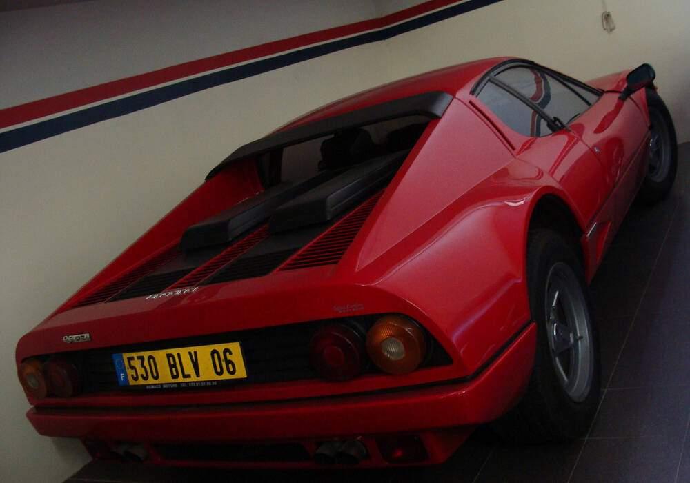 Fiche technique Ferrari 512 BB (1976-1981)