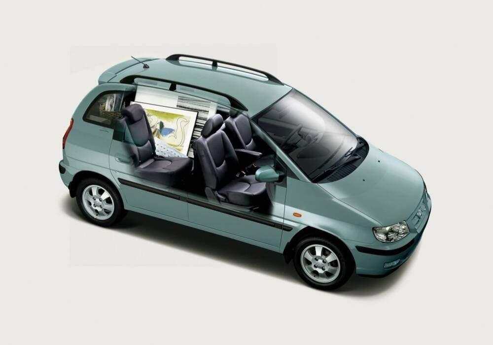 Fiche technique Hyundai Matrix 1.6 (2001-2010)