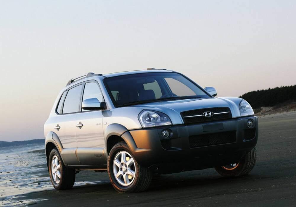 Fiche technique Hyundai Tucson 2.7 V6 (2004-2010)