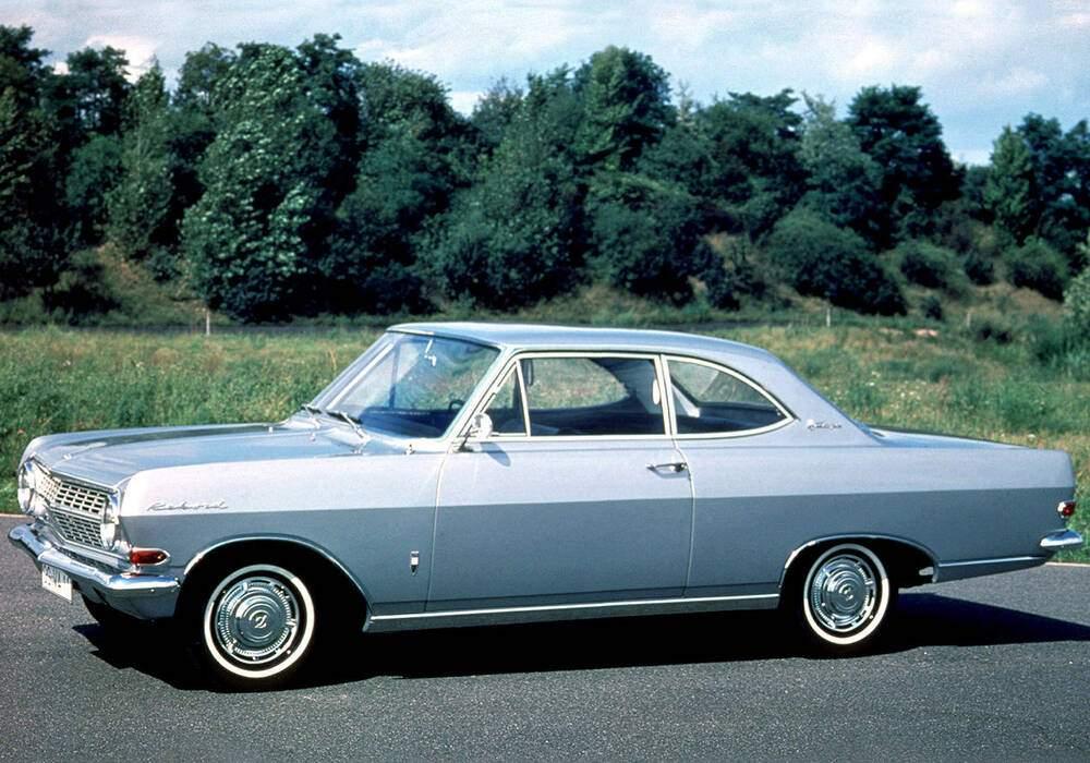 Fiche technique Opel Rekord III Coupé 1700 S (A) (1963-1965)