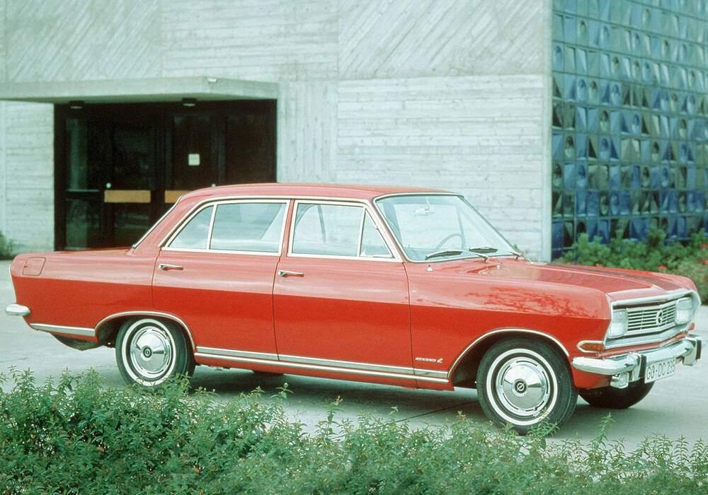 Fiche technique Opel Rekord IV 1900 S (B) (1965-1966)