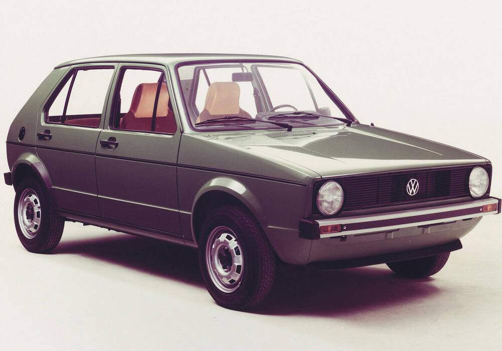 Fiche technique Volkswagen Golf 1.1 (Typ 17) (1974-1983)