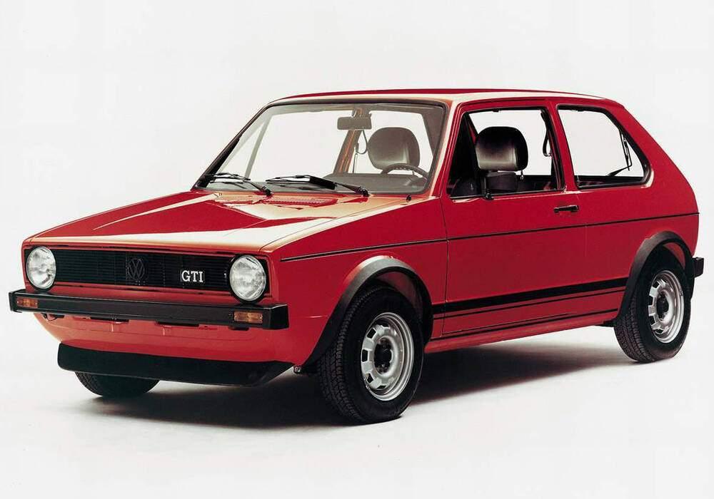 Fiche technique Volkswagen Golf 1.6 GTi (Typ 17) (1976-1982)