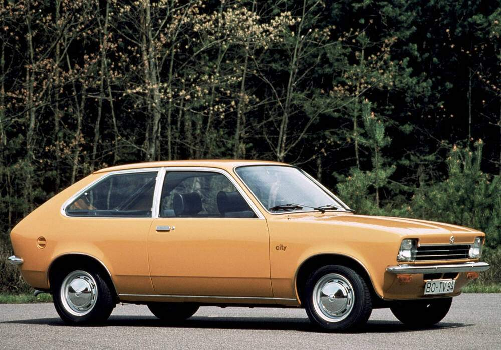 Fiche technique Opel Kadett III 1.0 N City (1975-1979)
