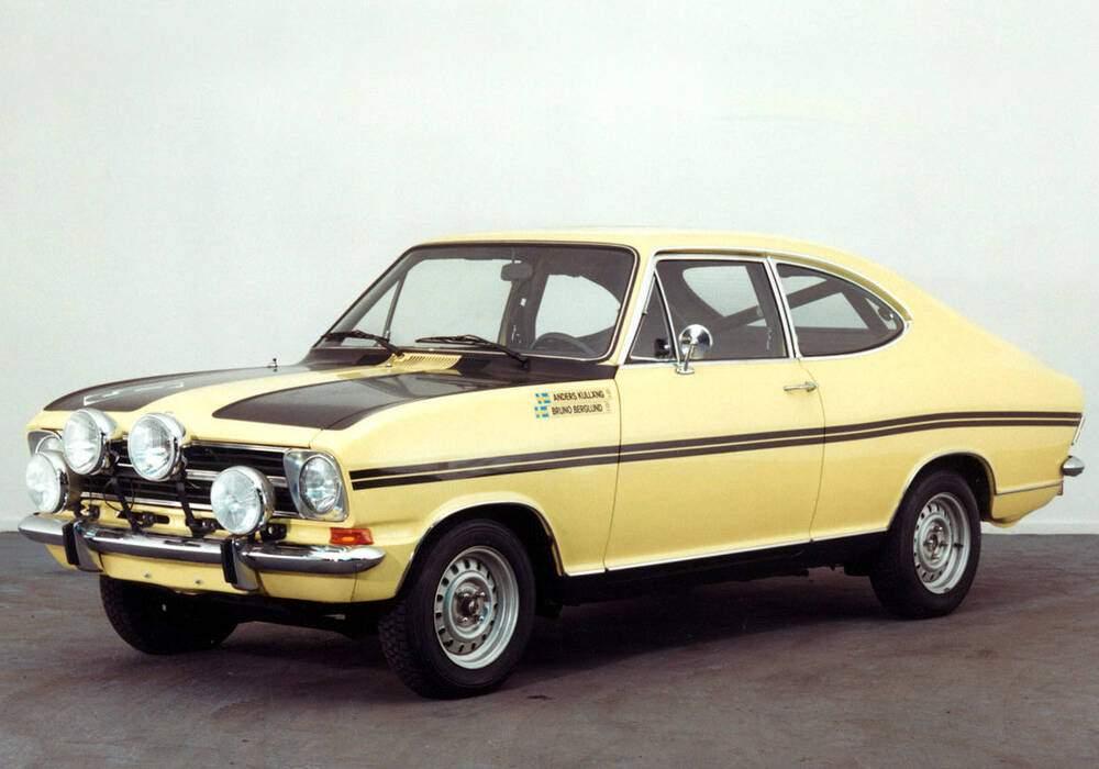 Fiche technique Opel Kadett II Rallye 1900 (1967-1973)