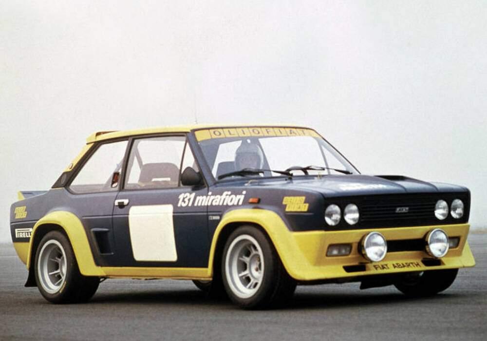 Fiche technique Abarth 131 Rally (1976-1980)