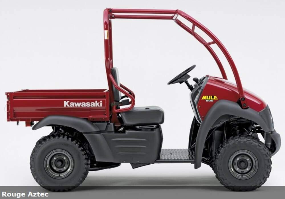 Fiche technique Kawasaki Mule 600 (2007)